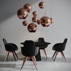 英国TomDixon现代桌椅吊灯组合国外3D快三追号倍投计划表【ID:831930800】