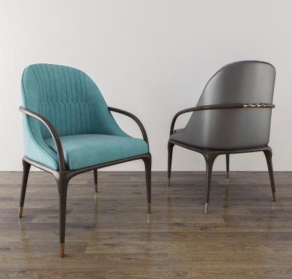 餐椅3D模型【ID:740808130】