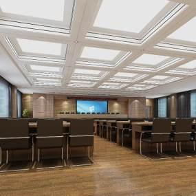会议室 3D模型【ID:941329194】