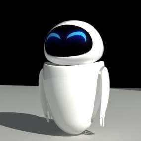 现代伊娃机器人3D模型【ID:332497643】