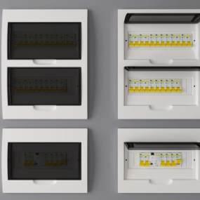 现代配电箱3D模型【ID:330617373】