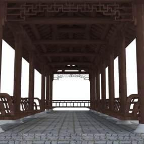 传统中式长廊365彩票【ID:234999193】