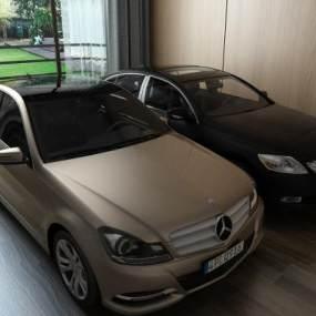 汽车私家车3D模型【ID:432196792】