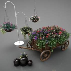 現代風格植物3D模型【ID:248859818】