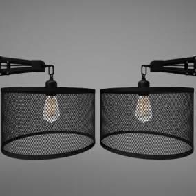 現代風格壁燈3D模型【ID:749424953】