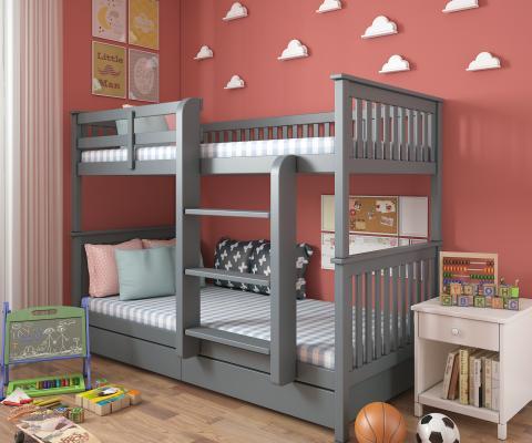 儿童床3D模型【ID:836159887】