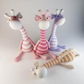 北欧男孩女孩布偶玩具饰品娃娃3D模型【ID:332843431】