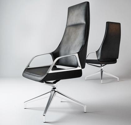 現代老板椅3D模型【ID:227878911】