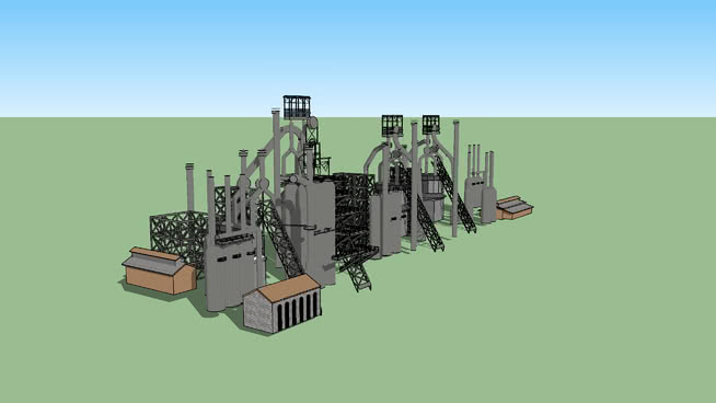伯利恒钢铁公司SU模型【ID:839323005】