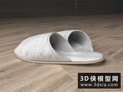 拖鞋國外3D模型【ID:929744601】
