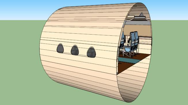 60年代的SUD航空CARAVELL小屋SU模型【ID:840512564】