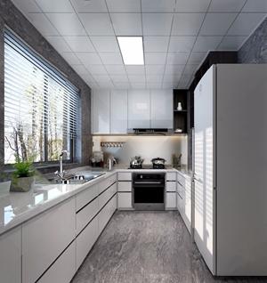 现代厨房3D模型【ID:532381300】