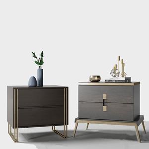 现代床头柜组合3D模型【ID:928357685】
