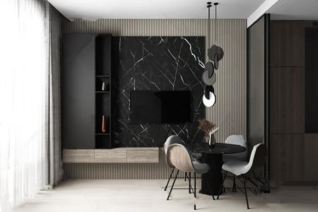 莫斯科简约公寓3D模型【ID:541355163】