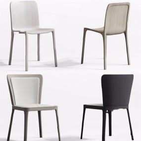 北欧椅子组合3D模型【ID:228227452】