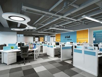 现代办公室3D模型【ID:220816430】
