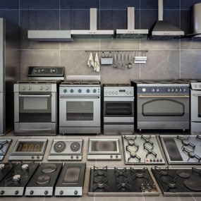 厨房用具组合3D模型【ID:828149355】