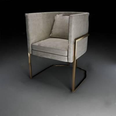 现代沙发椅3D模型【ID:920011680】
