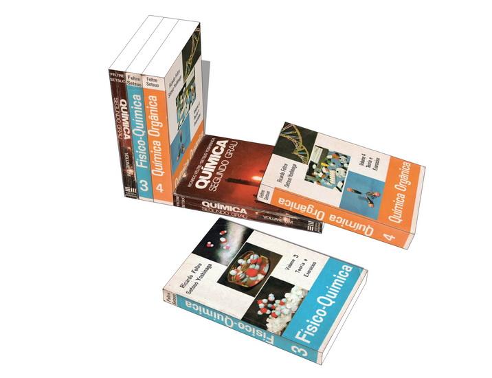 书籍摆设SU模型【ID:937116669】