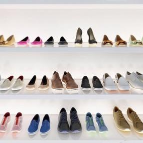 现代鞋子组合3D模型【ID:928335914】