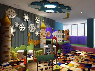 儿童娱乐室3D模型【ID:128225091】