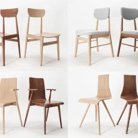 北欧椅子3D模型【ID:227883467】