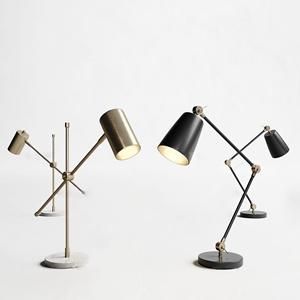 现代台灯组合3D模型【ID:631405135】