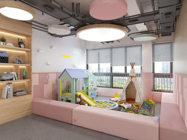 現代幼兒園3D模型【ID:946261657】