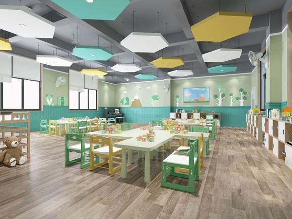 北歐幼兒園教室3D模型【ID:947290642】