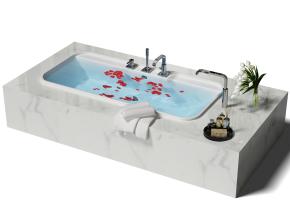 现代浴缸3D模型【ID:227779098】