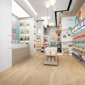 现代母婴店3D模型【ID:227891225】