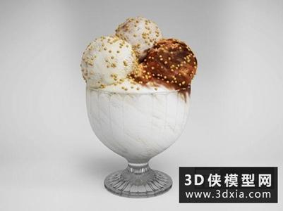 冰淇淋國外3D模型【ID:929835591】