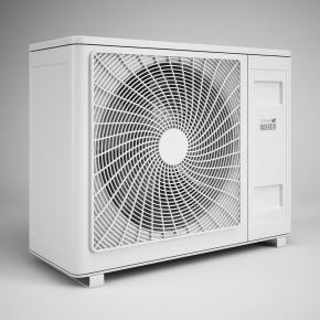現代空調外機3D模型【ID:127753483】