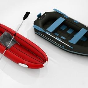 现代皮划艇3D模型【ID:826222461】