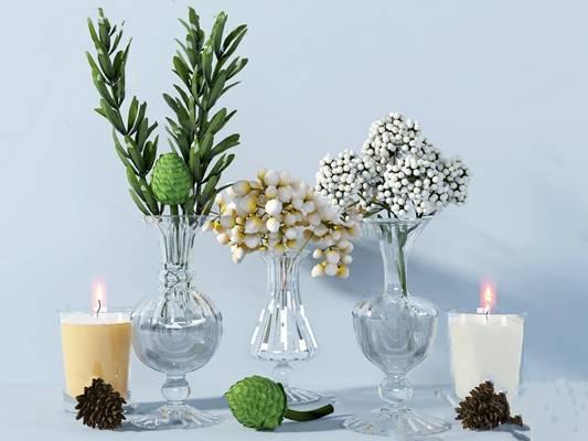 现代花瓶3D模型下载【ID:619603808】
