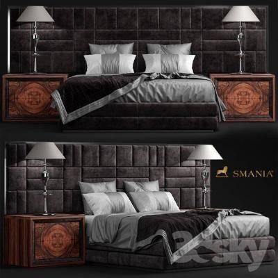 现代卧室3D模型【ID:419846327】
