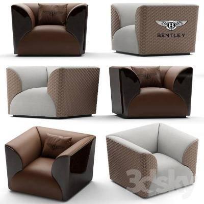 现代单人沙发3D模型【ID:919855608】