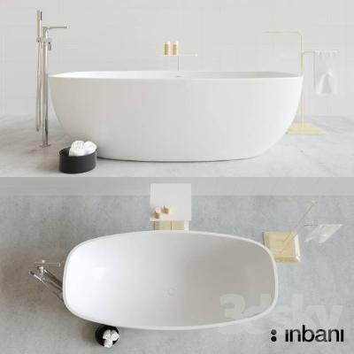 现代浴缸3D模型【ID:219880014】