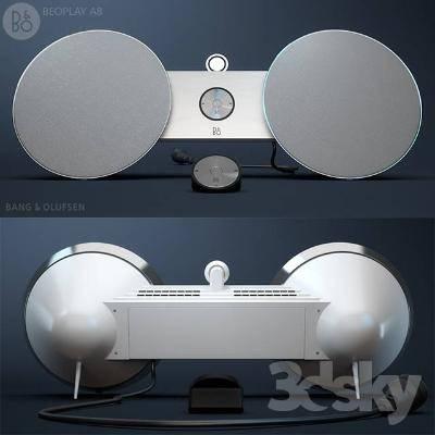 现代音响3D模型【ID:320043153】