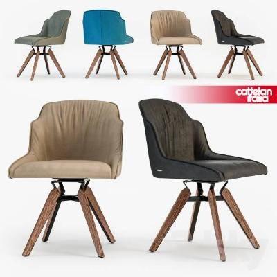 现代单人休闲椅3D模型【ID:220044482】