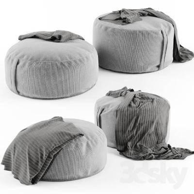 现代单人沙发3D模型【ID:920515651】
