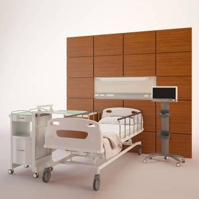 现代医院病房3D模型【ID:920526659】