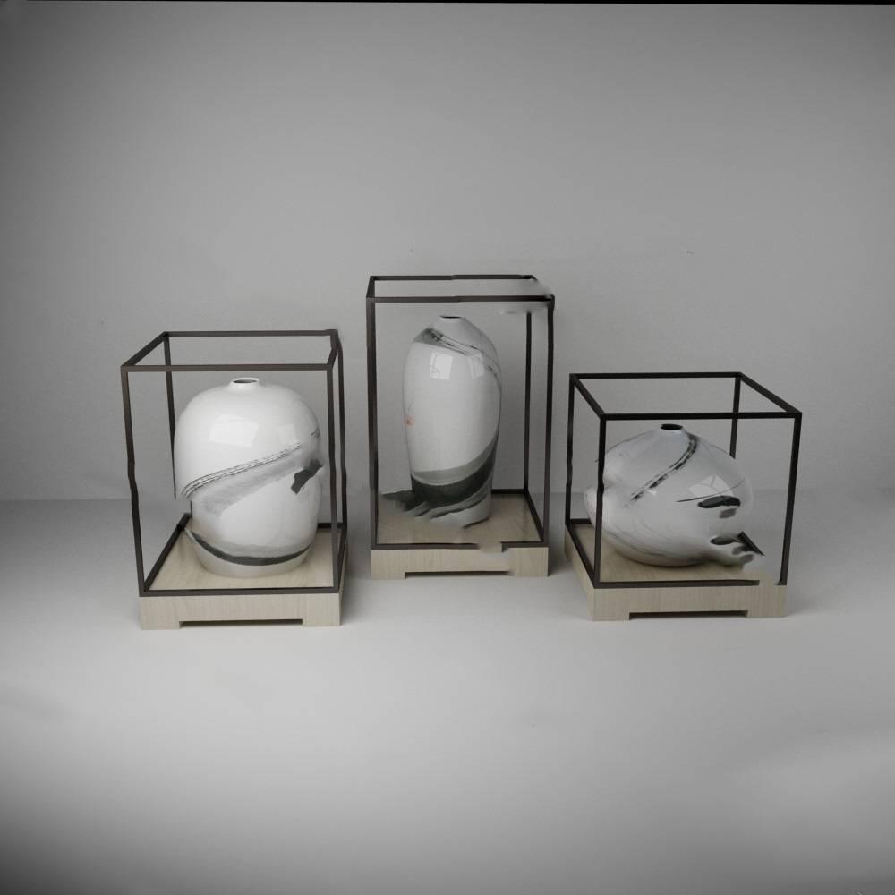 花瓶3D模型【ID:620010045】