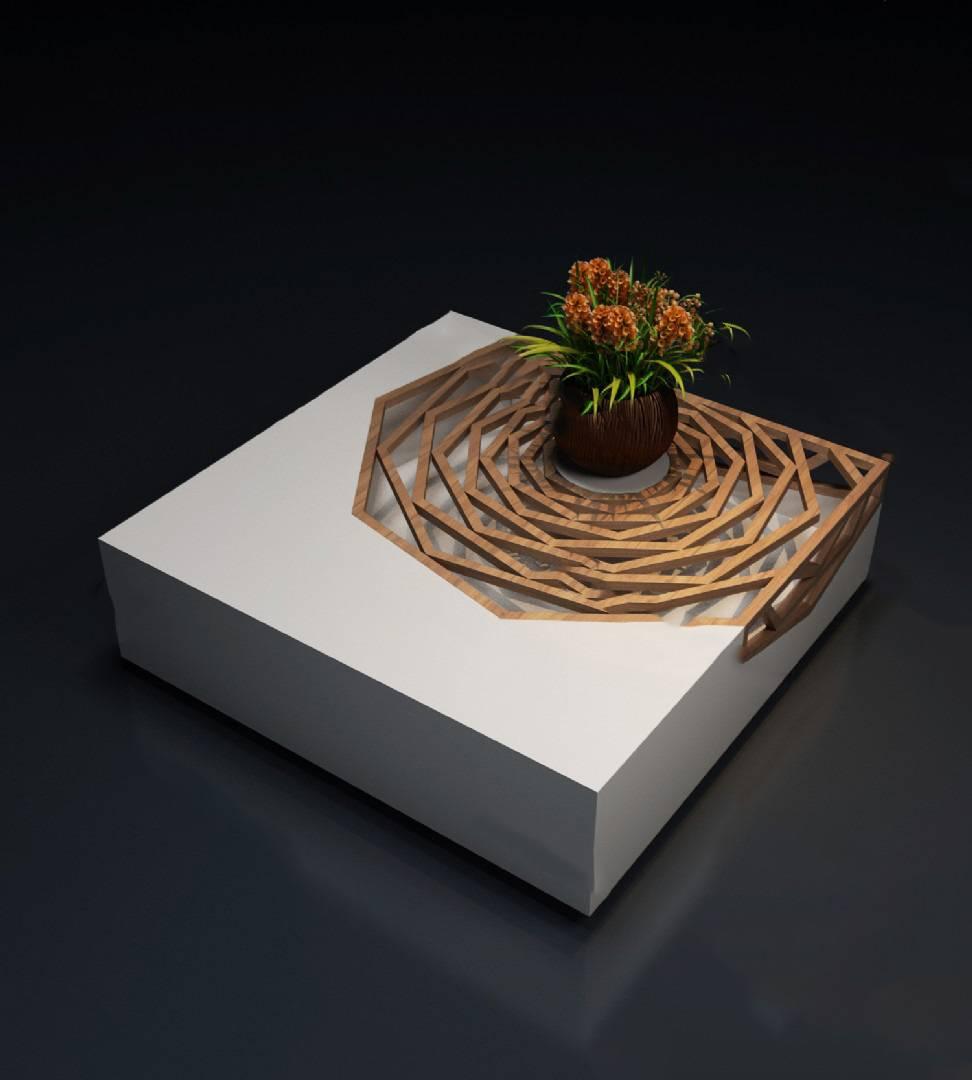 茶几3D模型【ID:620023013】