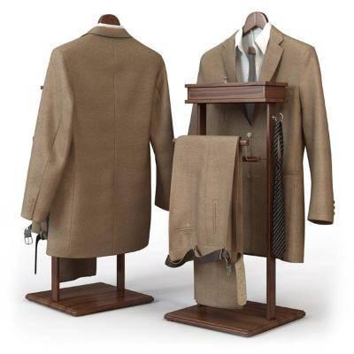 现代男士服装3D模型【ID:420546105】