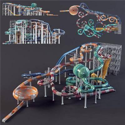 现代组合器材3D模型【ID:920546902】