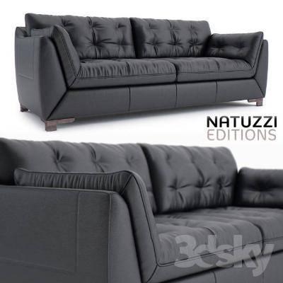 欧式简约双人沙发3D模型【ID:920549740】