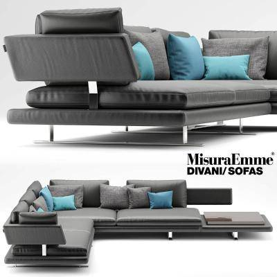 现代组合沙发模型3D模型【ID:120574089】