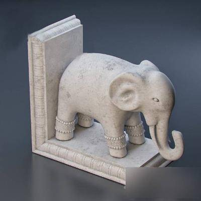 现代大象石雕模型3D模型【ID:323422842】
