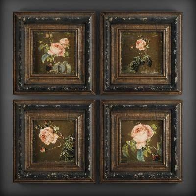 欧式古典挂画3d模型【ID:123422070】
